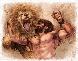 Sansão e o leão