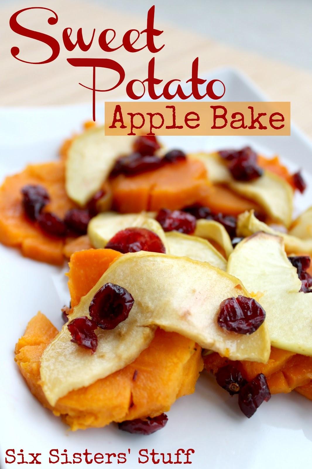 Sweet Potato Apple Bake | Six Sisters' Stuff