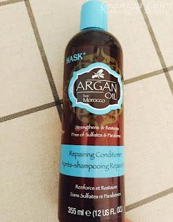 Acondicionador fortalecedor y reparador Argan Oil from Morocco de HASK