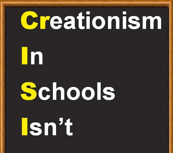 creationism in schools Teaching creationism in public schoolsreally by molly hogan | january 31, 2014 2 + 2 = 4 george washington was the first president dinosaurs and.