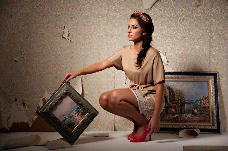 Moda mujer exclusiva de autor Valérie Moreau