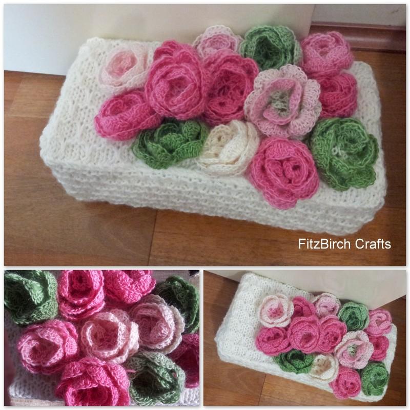 Fitzbirch Crafts Knitted Door Stop