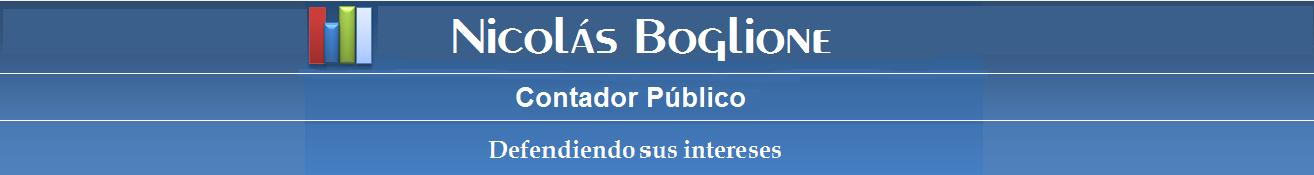 Nicolas Boglione - Contador Público