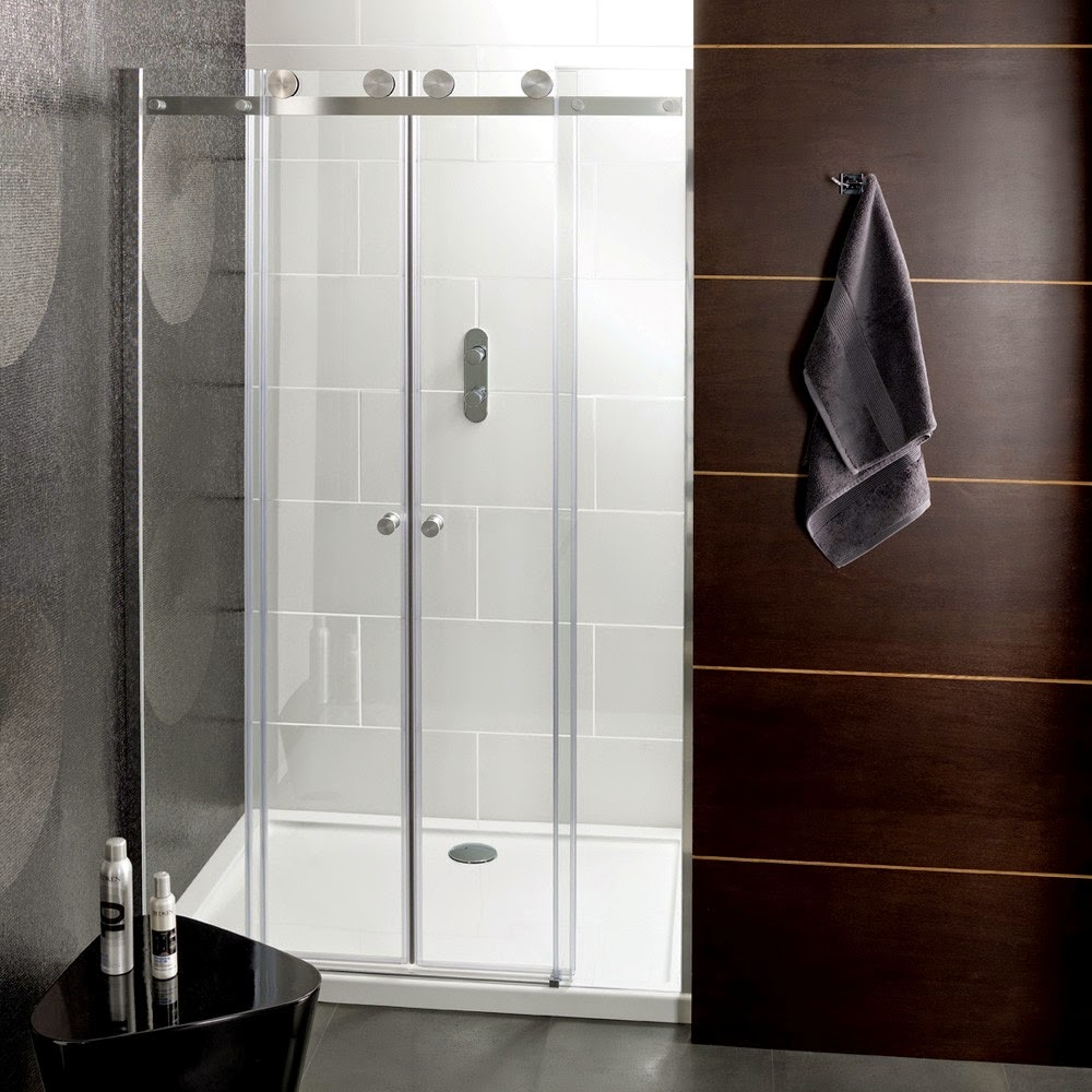 Frameless Sliding Glass Shower Doors Dc Va Gets A Contemporary