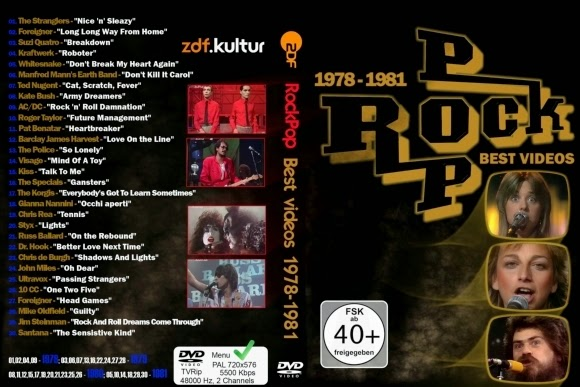Download RockPop Best Videos 1978-1981 Vol.1 DVD-R RockPop Best Videos 1978 1981 Vol