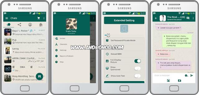 BBM Mod Whatchak v2.9.0.49 Tema Whatsapp Apk