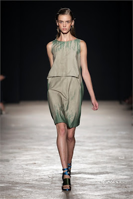 Maurizio Pecoraro - Spring Summer 2013 Fashion Show - Lee Ufam inspiration