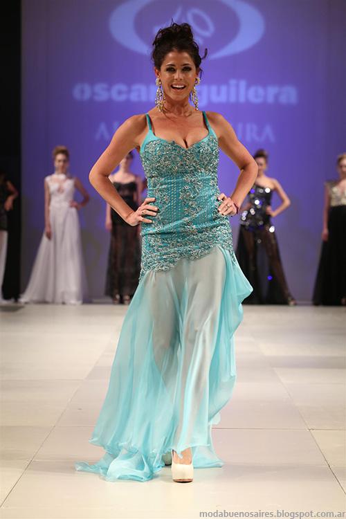 Designers Look Buenos Aires primavera verano 2014. Moda 2014. Vestidos de fiesta 2014.