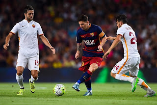Destroy Barcelona AS Roma Wolves 6-1 Ensure Winner Group