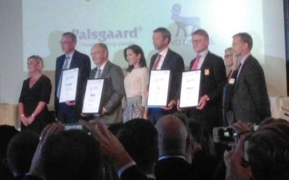 Crown Princess Mary Presented The Awards For CSR