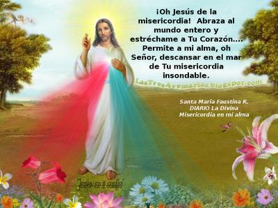 jesucristo que descance en el amr de tu misericordia