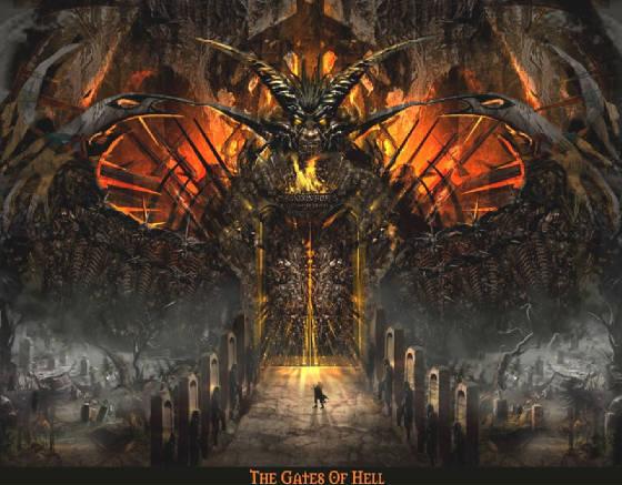 A door for demons. & A door for demons... | Vinyl Theology