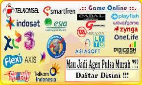 Distributor Pulsa (ISTANA RELOAD) Murah Area Jawa Timur