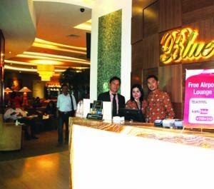 Blue Sky Premier Lounge Bandara Sepinggan Balikpapan