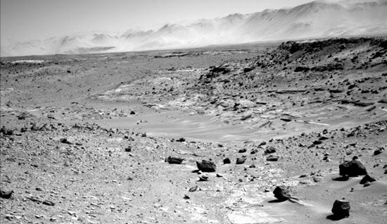 Inilah Letak Robot Curiosity Saat Ini di Planet Mars