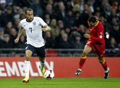 Spurs winger Andros Townsend