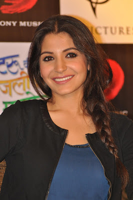 Anushka sharma and imran khan at matru ki bijlee ka mandola press conference.