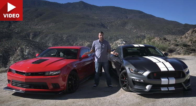 Mustang Meets Camaro Z In An All American Battle For The