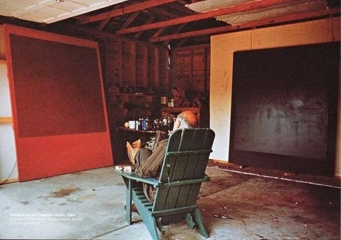Workspaces Of The Greatest Artists Of The World (38 Pictures) - Mark Rothko, painter