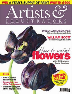 Artist and Illustrator Magazine May 2013