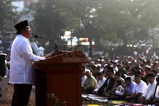 Umat Islam Bandung shalat Idul Fitri (foto ROL)