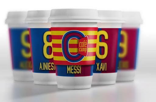 Cofé Camp - The Barcelona-themed coffee brand