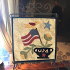 """Old Glory"" Tablestand Quilt"