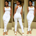 Hamisa Mobetto, All White look