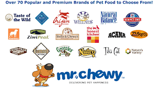 Mr Chewy pet food brands