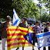 Mig miler de persones celebren els 65 anys de la independència d'Israel a Barcelona #WTL65BCN