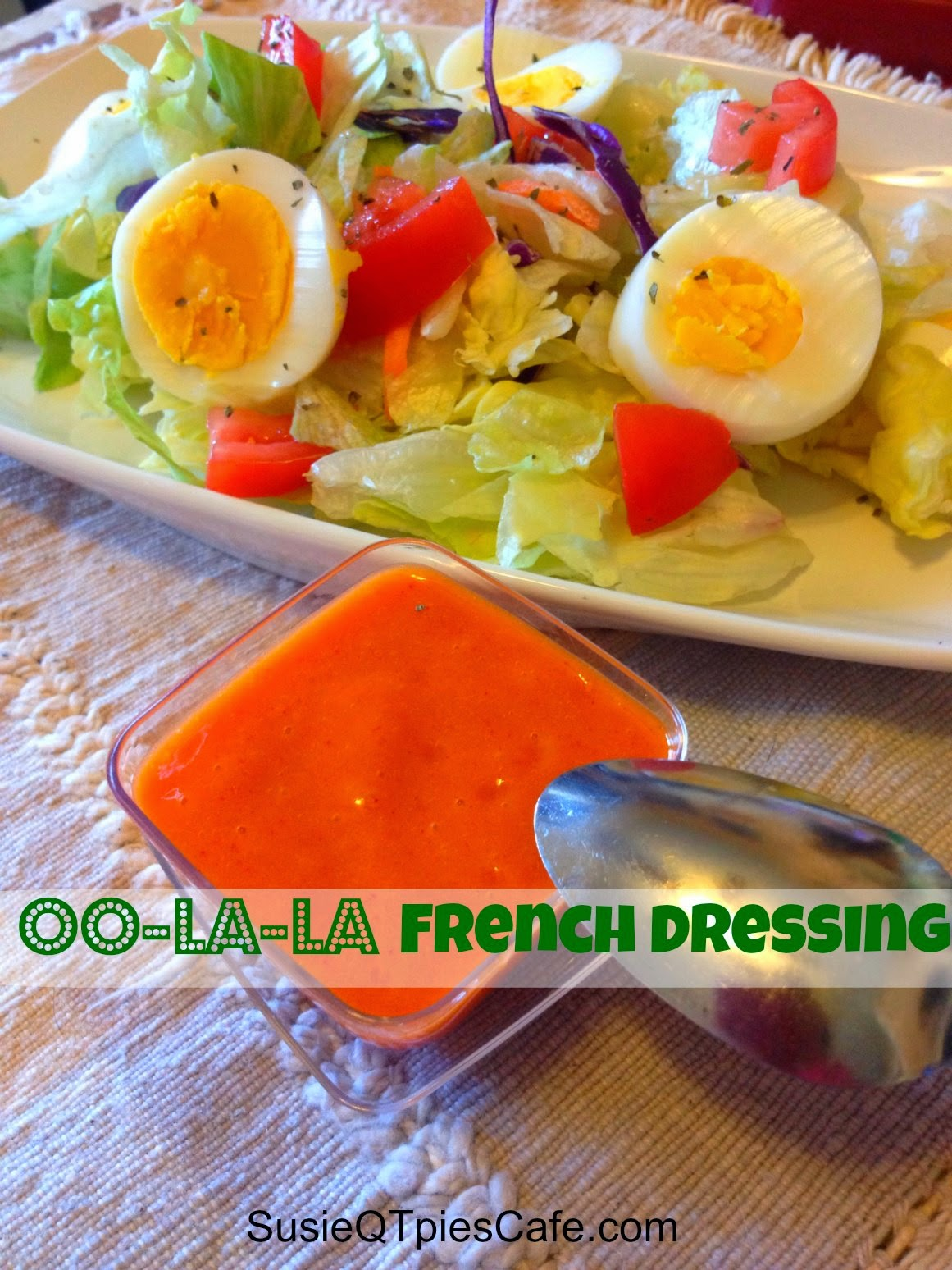 French homemade salad dressings