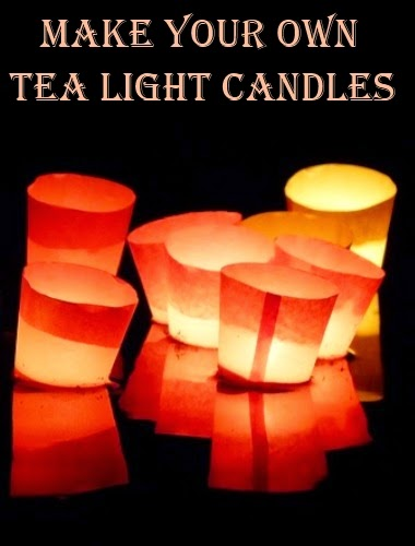 How to Make Your Own Tea Light Candles