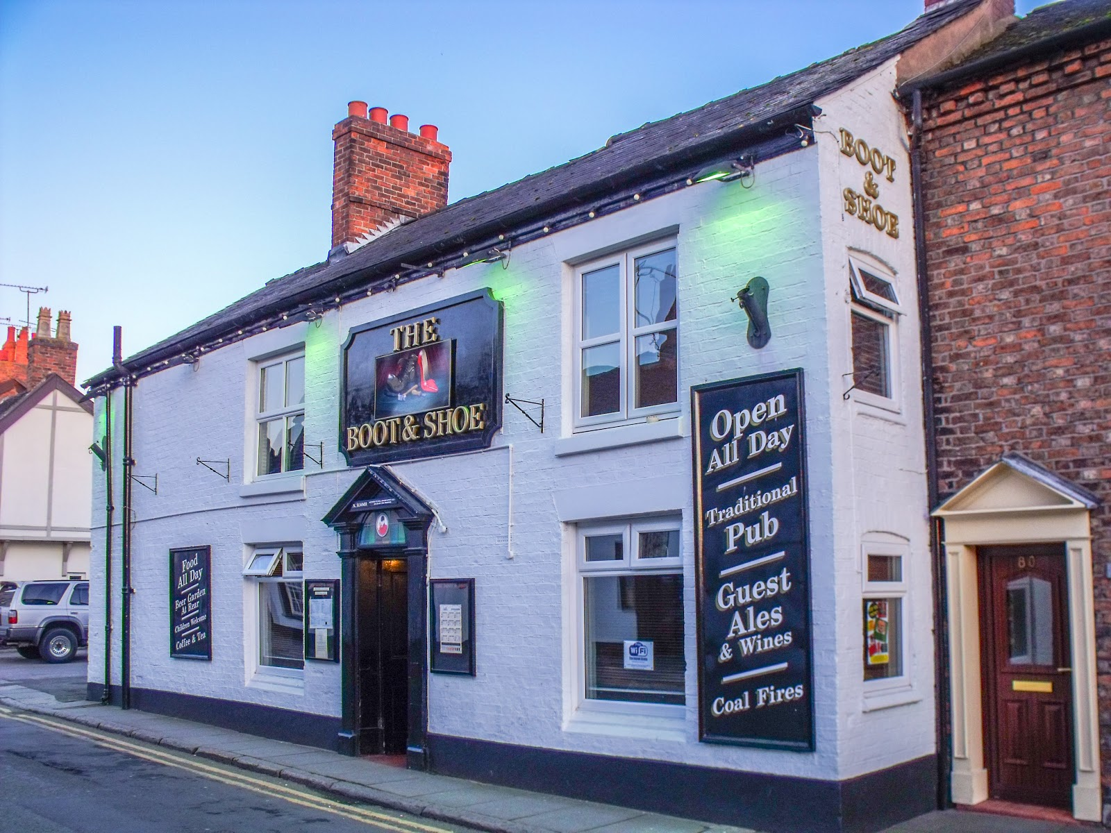 pubs then now 096 the boot shoe nantwich cheshire