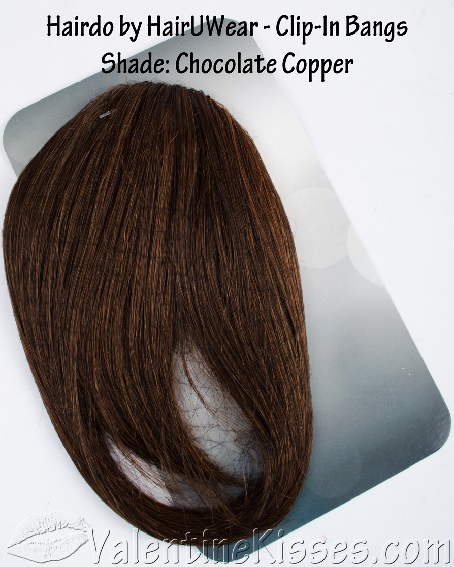 Chocolate Copper Hair Color Hairdo by hairuwear clip-in