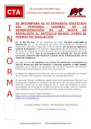SE INCORPORA AL VI CONVENIO COLECTIVO DEL PERSONAL LABORAL DE LA ADMINISTRACIÓN DE LA JUNTA DE ANDA