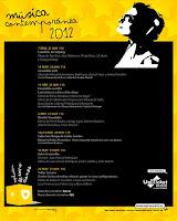 Del 7 de marzo al 23 de mayo de 2012, el Ciclo de Música Contemporánea del Teatro Central de Sevilla