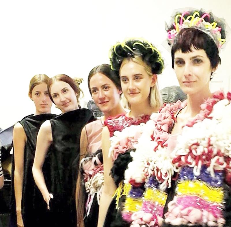 Lauren Pullen Graduate Fashion Week 2015 Models