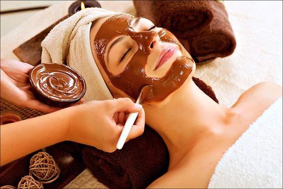 Hidrate pele máscara caseira chocolate