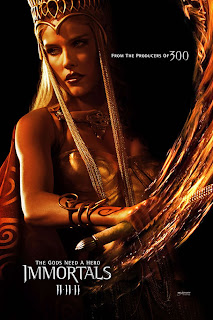 Isabel Lucas as Athena - Immortals Movie
