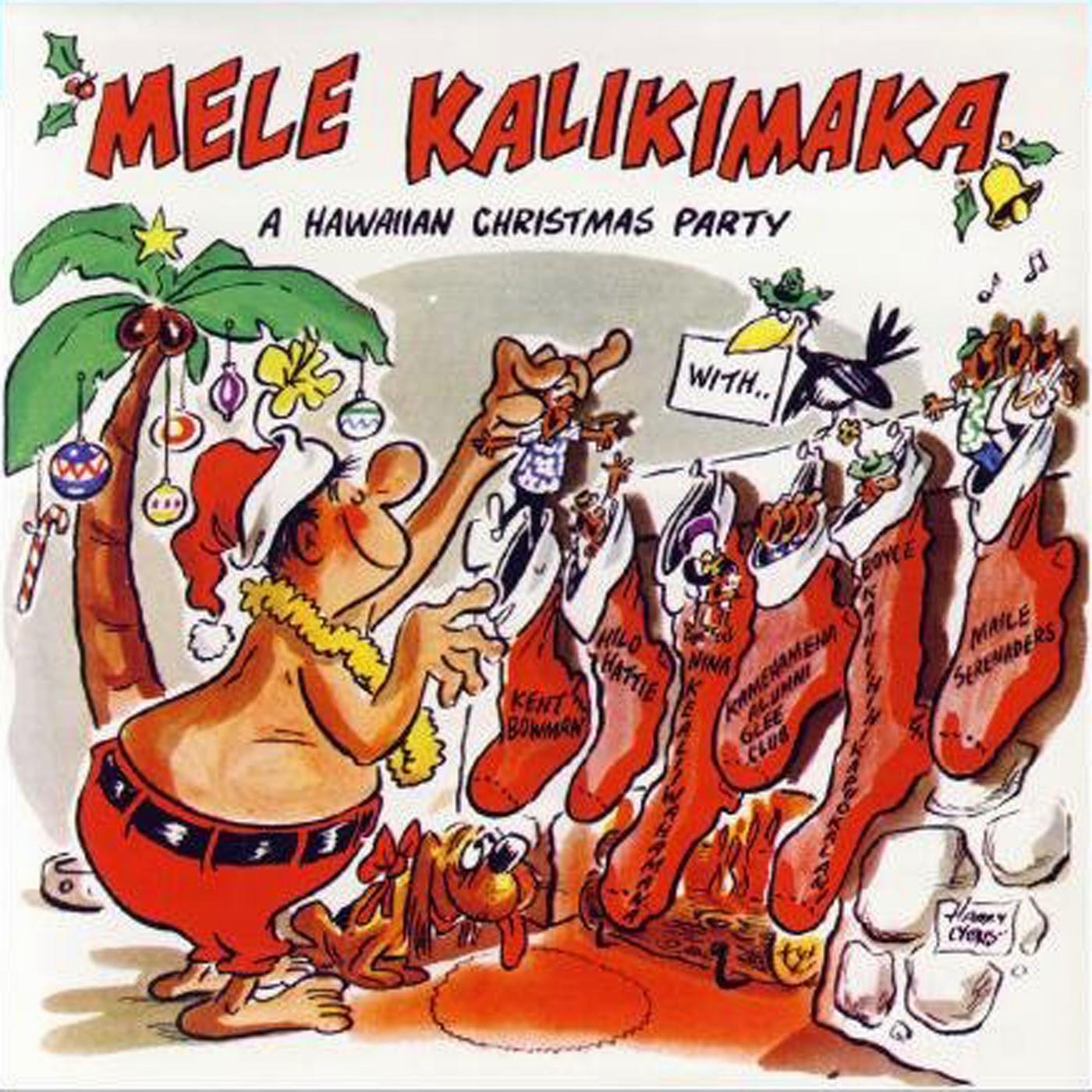Vintage Stand Up Comedy Kent Bowman Mele Kalikimaka A Hawaiian