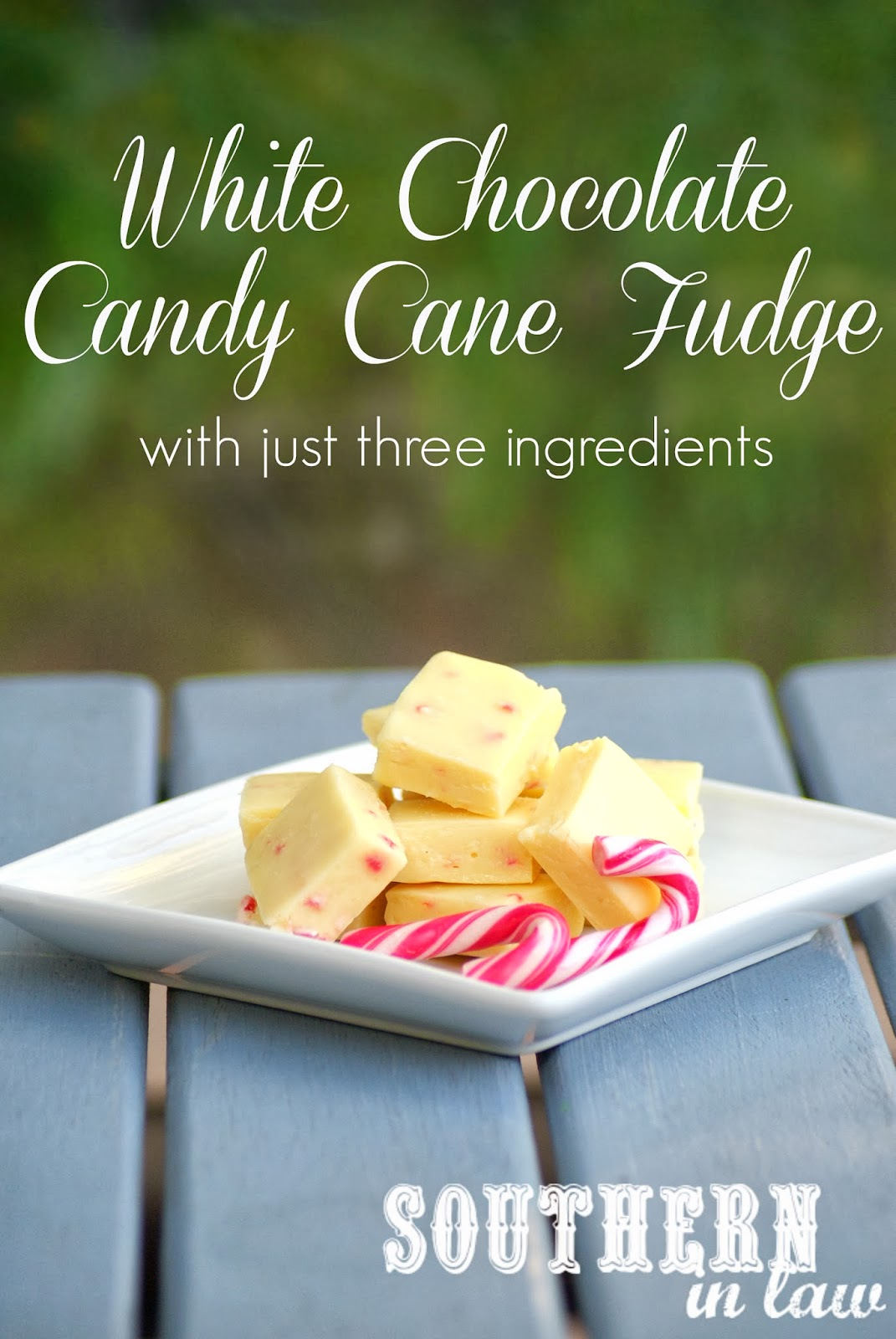 Easy candy cane fudge recipes