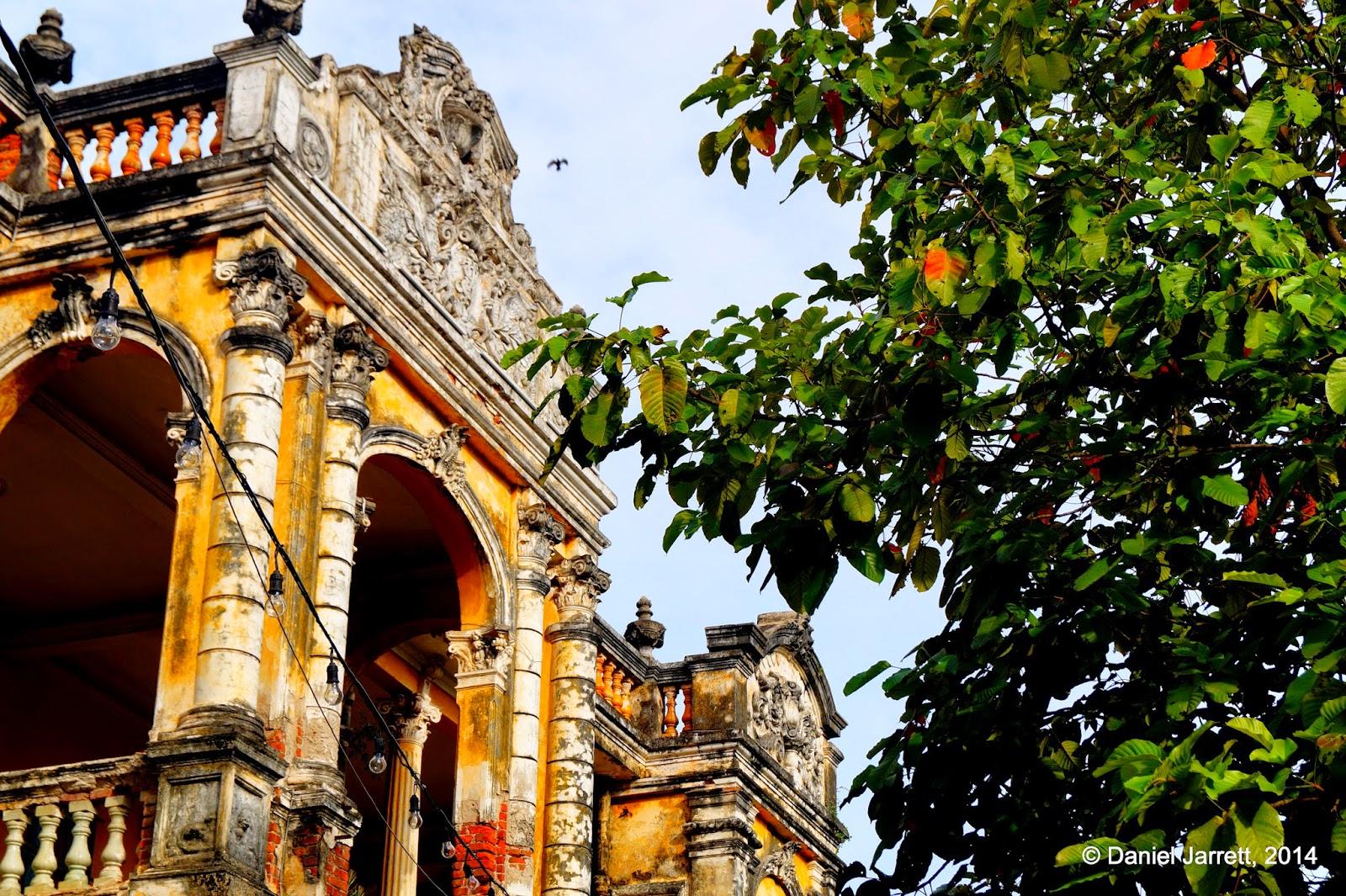 Brick and Leaves, Phnom Penh, Cambodia
