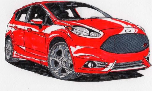 The all-new Ford Fiesta ST launches sometime in 2016.