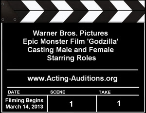 Godzilla Auditions and Casting Calls