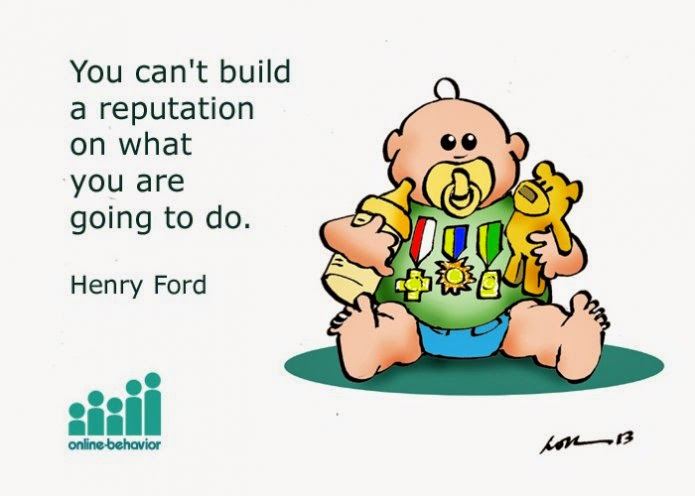 Building a Reputation Very Funny Humor Cartoon Jokes