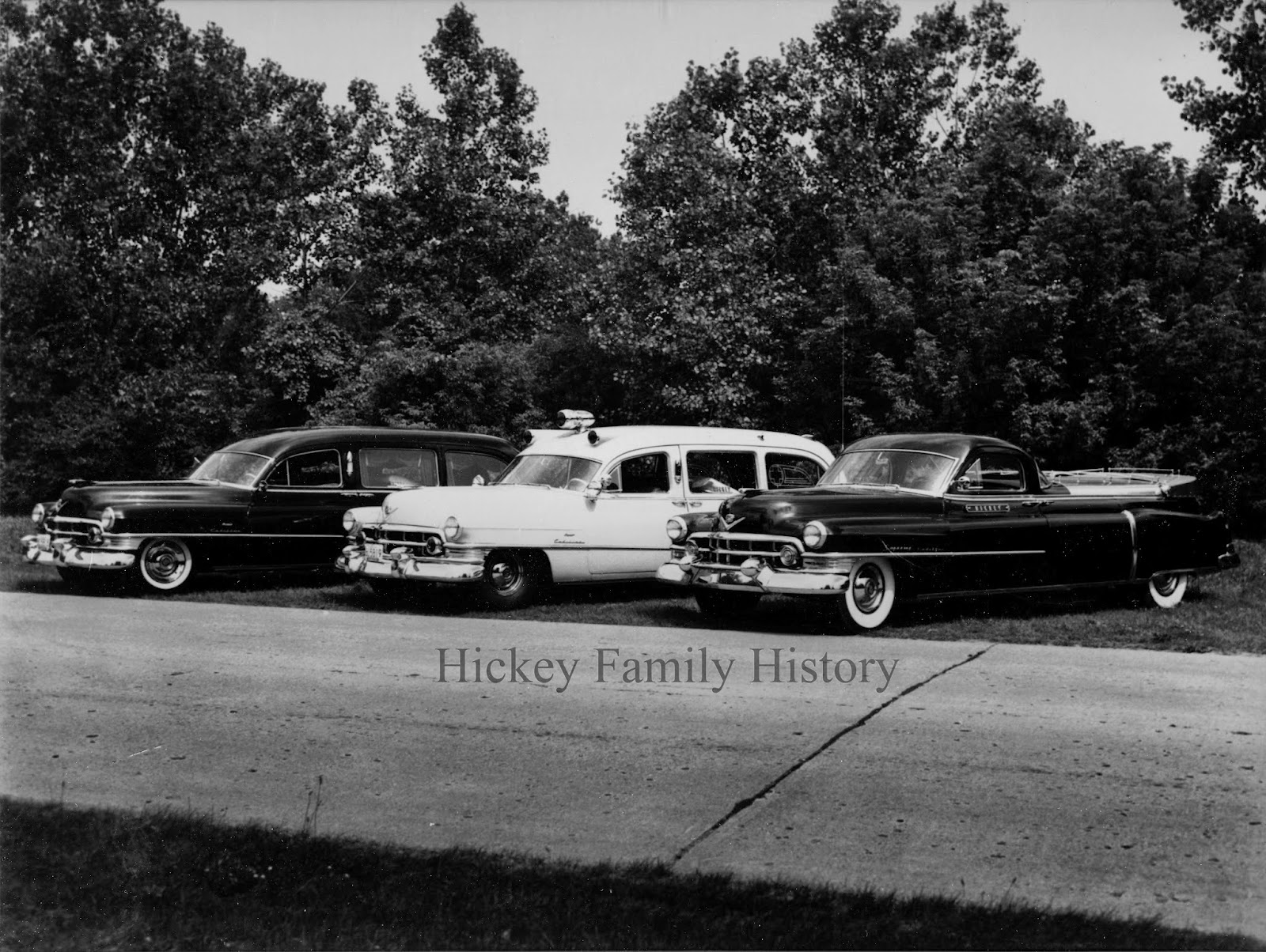 1937 And 1952 Hickey Funeral Home Vehicles Tom And Kate Hickey