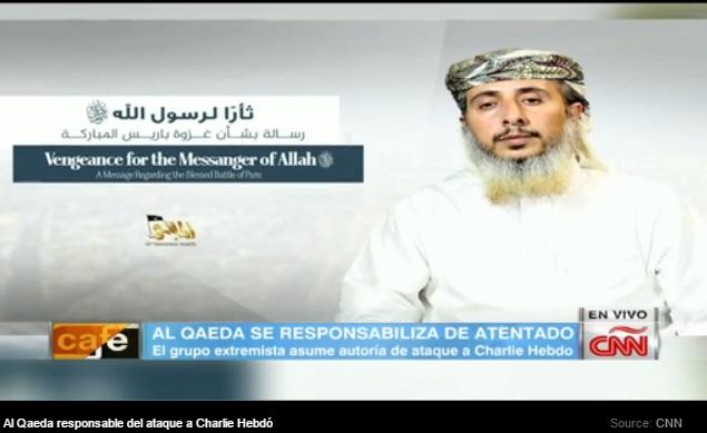 Al Qaeda en la Península Arábiga se atribuye el ataque contra Charlie Hebdo