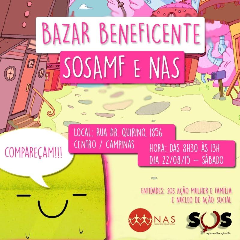 BAZAR BENEFICENTE SOSAMF E NAS