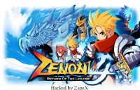 Zenonia 4 Hack v.1.0.8 - ZaneX ~ G4mehacks. Simply the best.