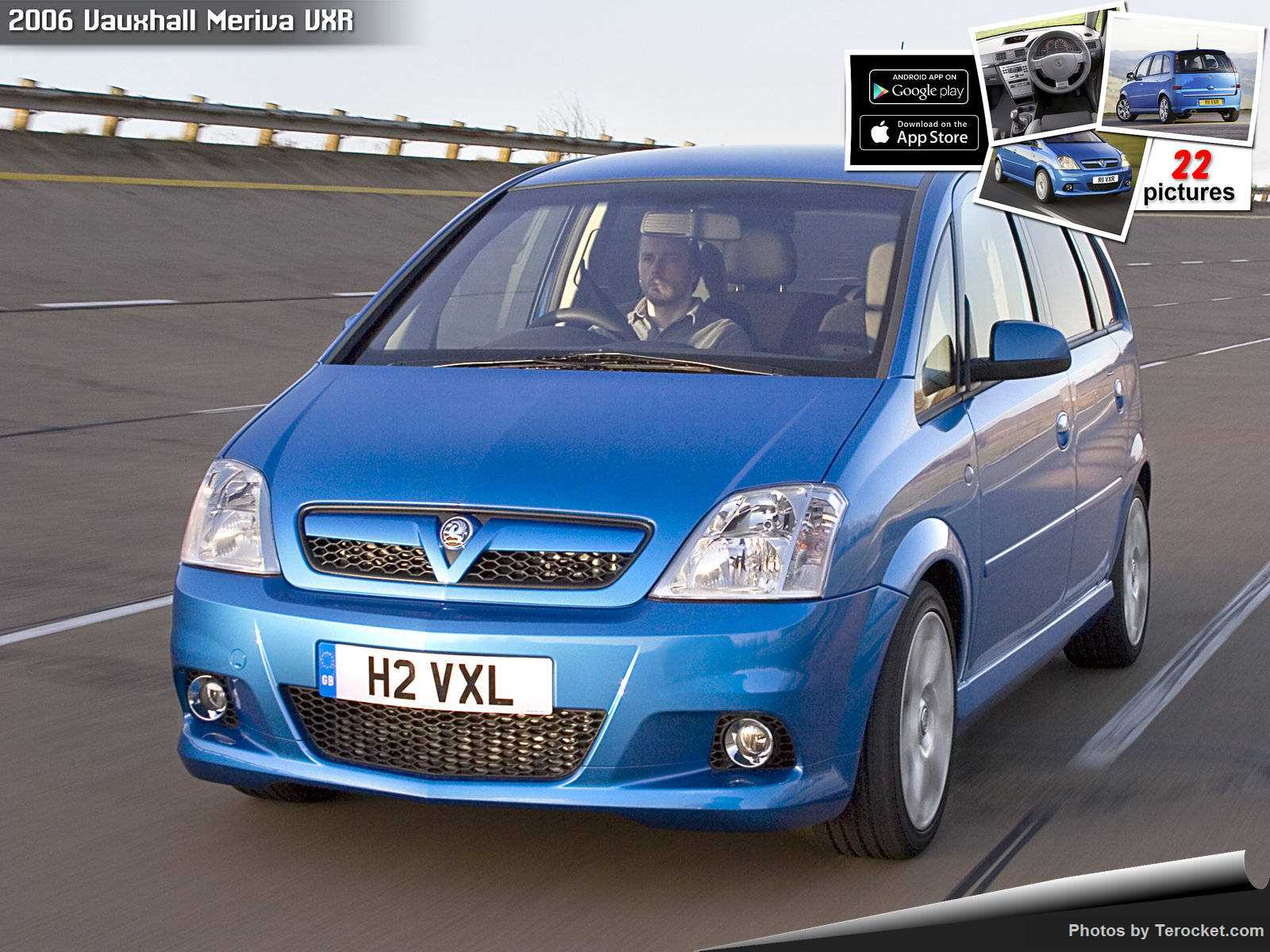 Hình ảnh xe ô tô Vauxhall Meriva VXR 2006 & nội ngoại thất